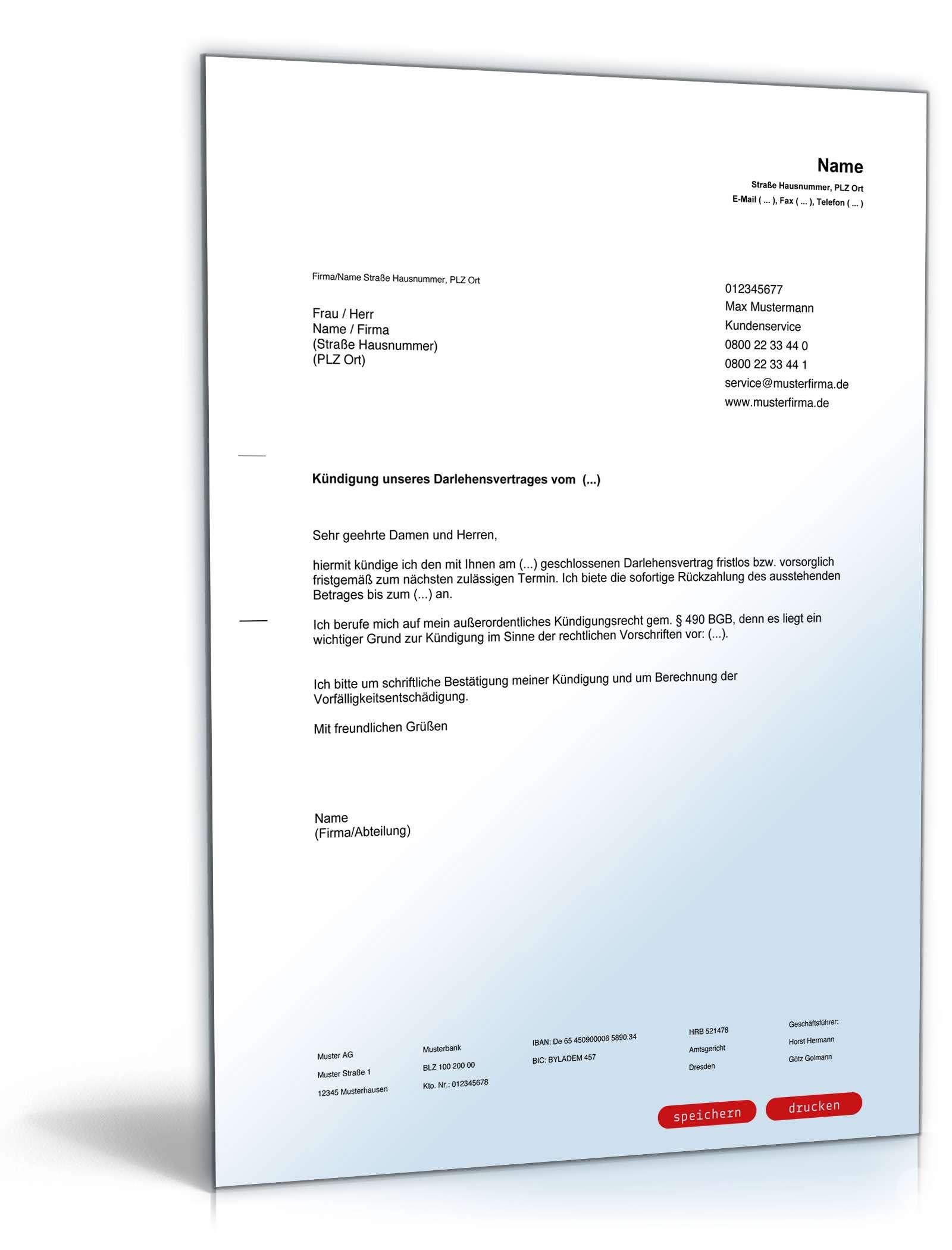 Groß Vorlage Eines Darlehensvertrags Fotos - Entry Level Resume ...