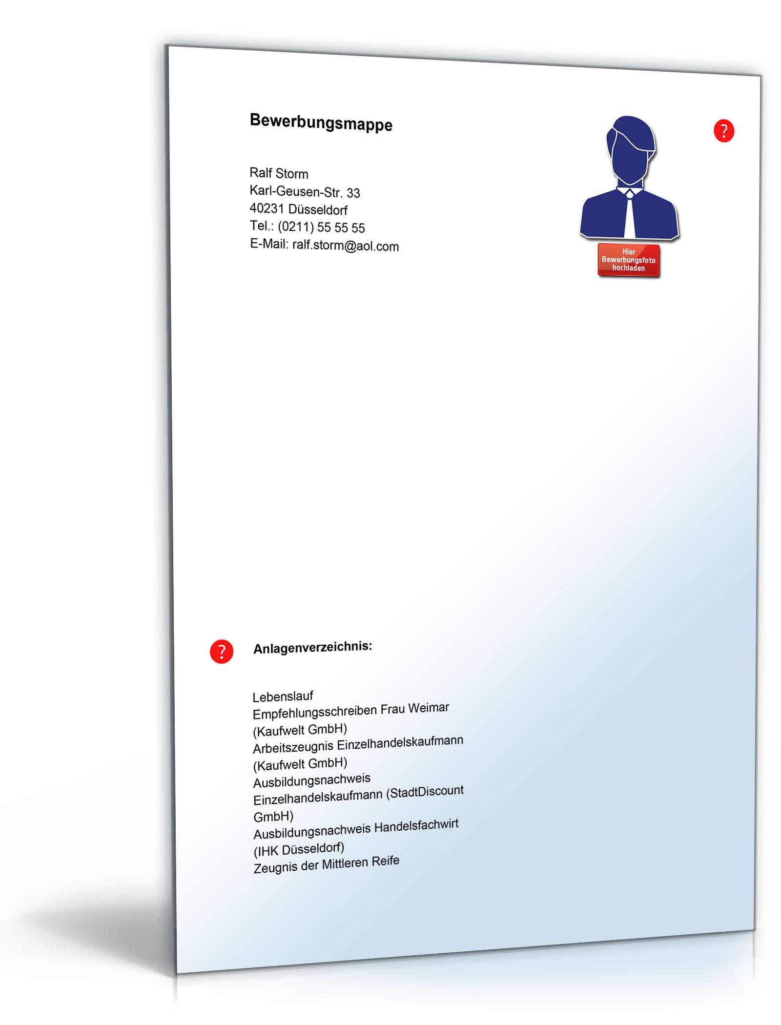 Lebenslauf Filialleiter   Muster zum Download