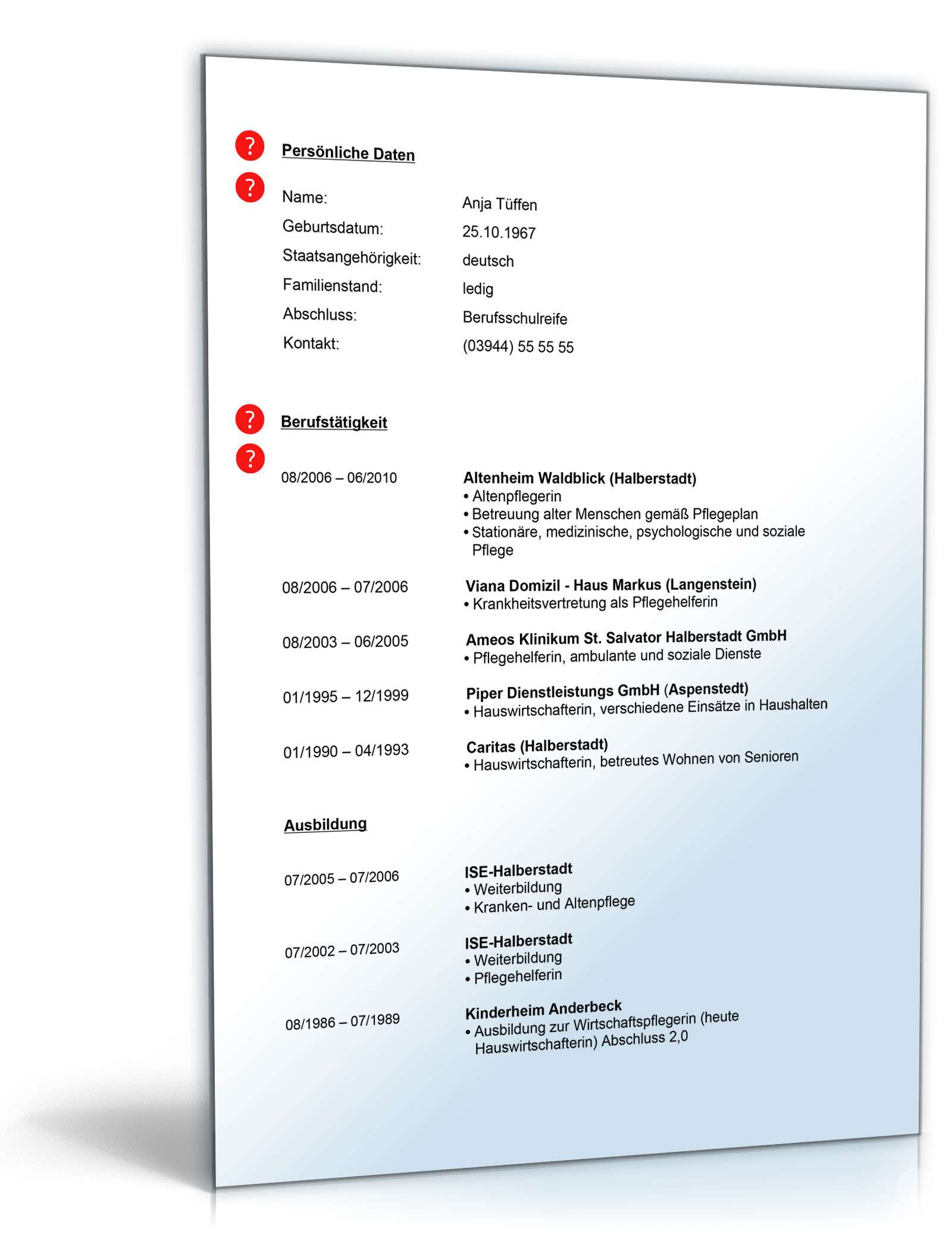Charmant Lebenslaufvorlage Drucken Fotos - Entry Level Resume ...