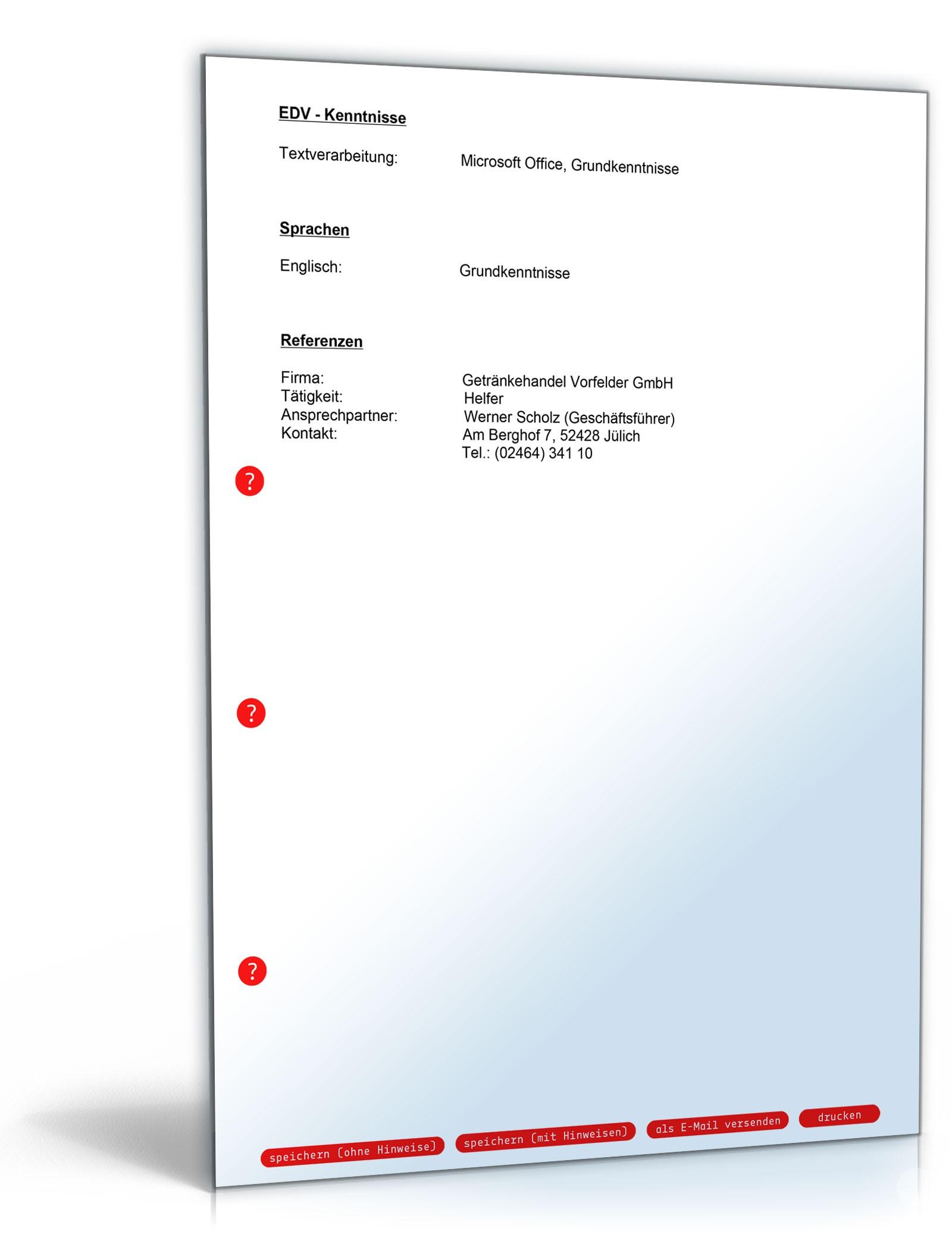 Groß Lebenslauf Magie 4. Ausgabe Pdf Download Ideen - Beispiel ...