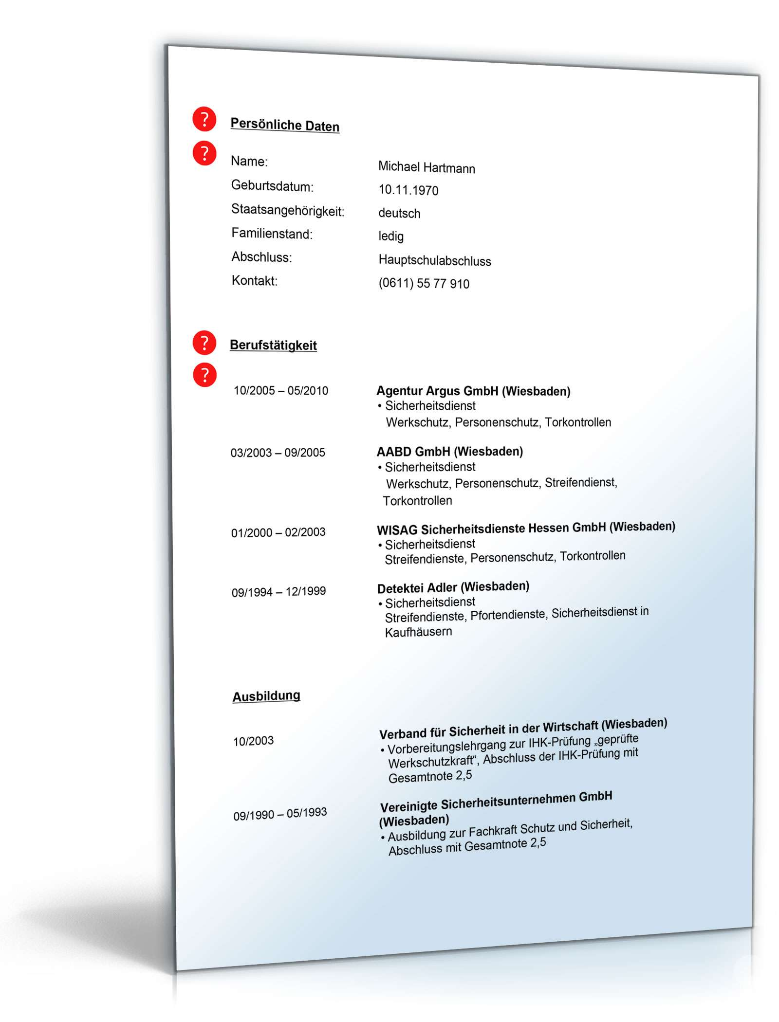 Fein Sicherheitsanalyst Lebenslauf Ideen - Entry Level Resume ...