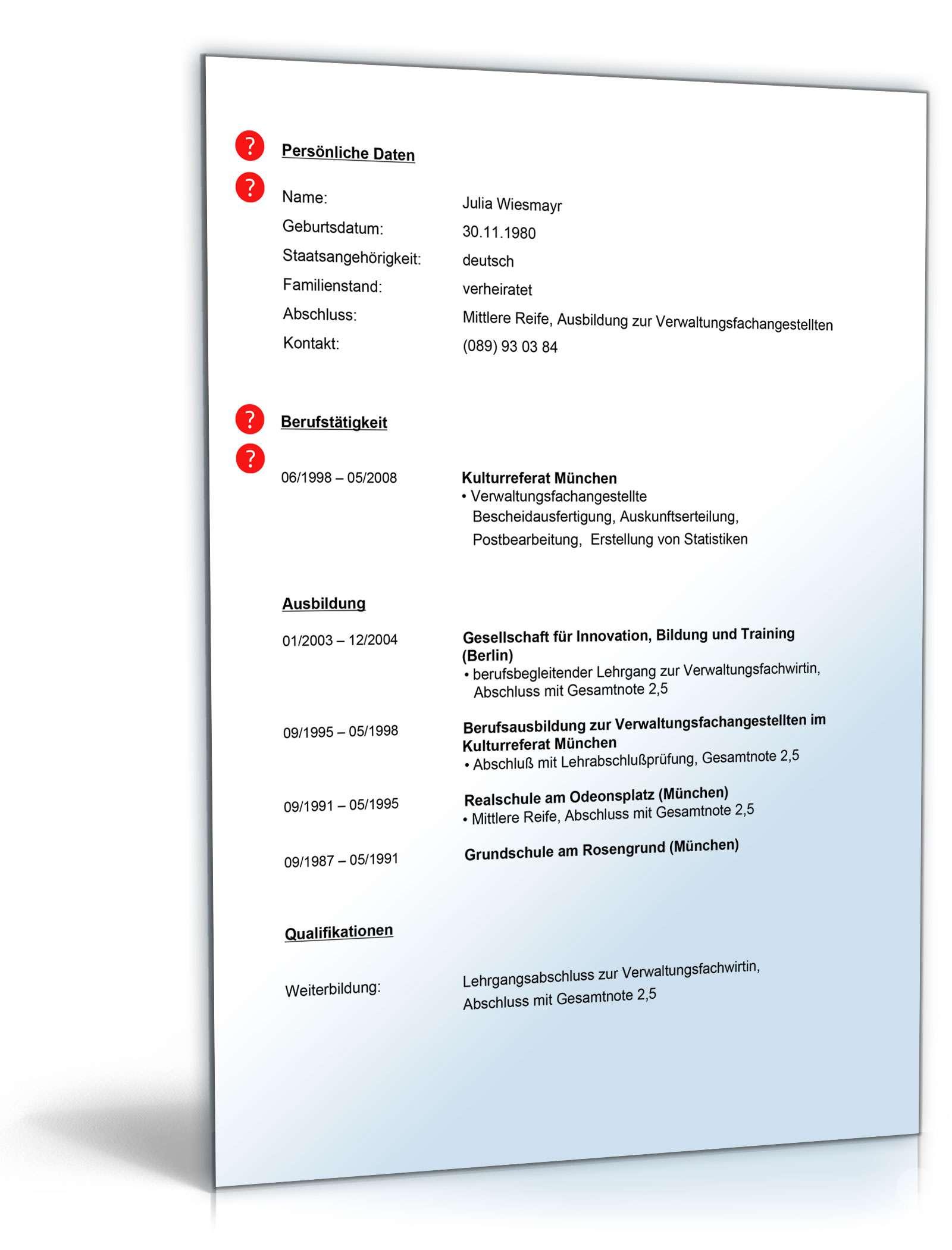 Fantastisch Hochschulzugangskoordinator Lebenslauf Galerie - Entry ...