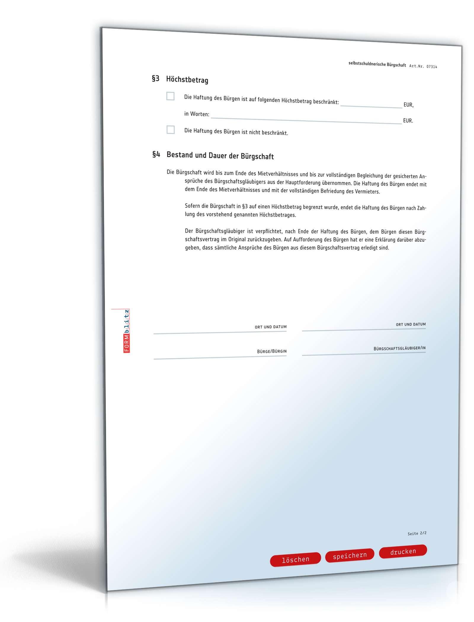 pdf seite 2 - Mietburgschaft Muster