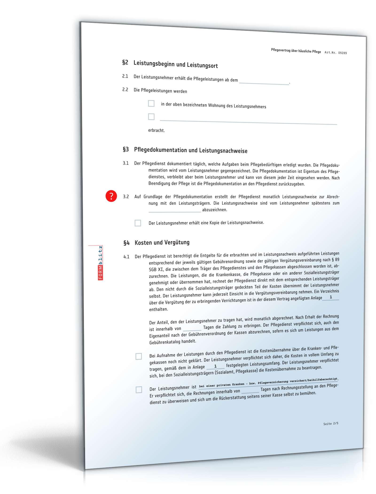 pdf seite 2 - Pflegedokumentation Muster