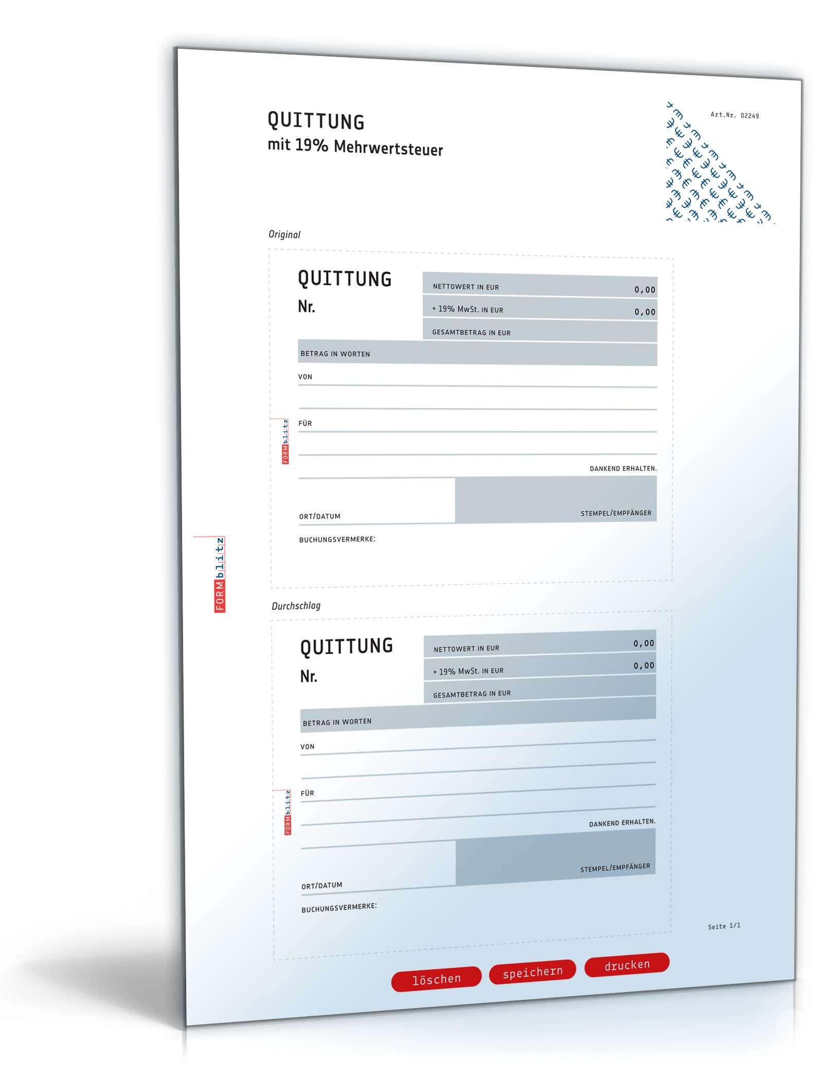 Niedlich Vorlage Quittungen Bilder - Entry Level Resume Vorlagen ...