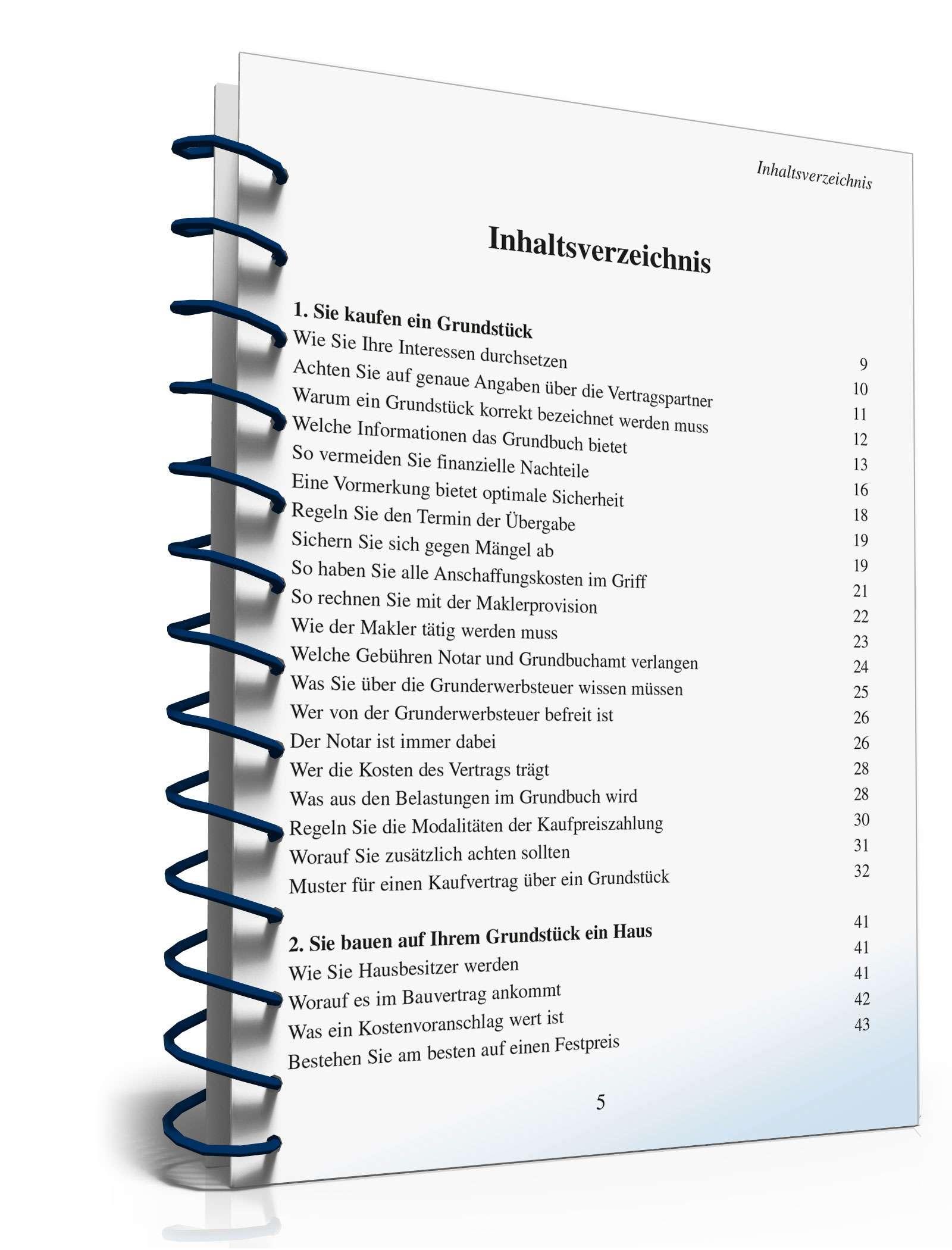 Ratgeber Immobilien Kaufvertrag Alle Infos Zum Download