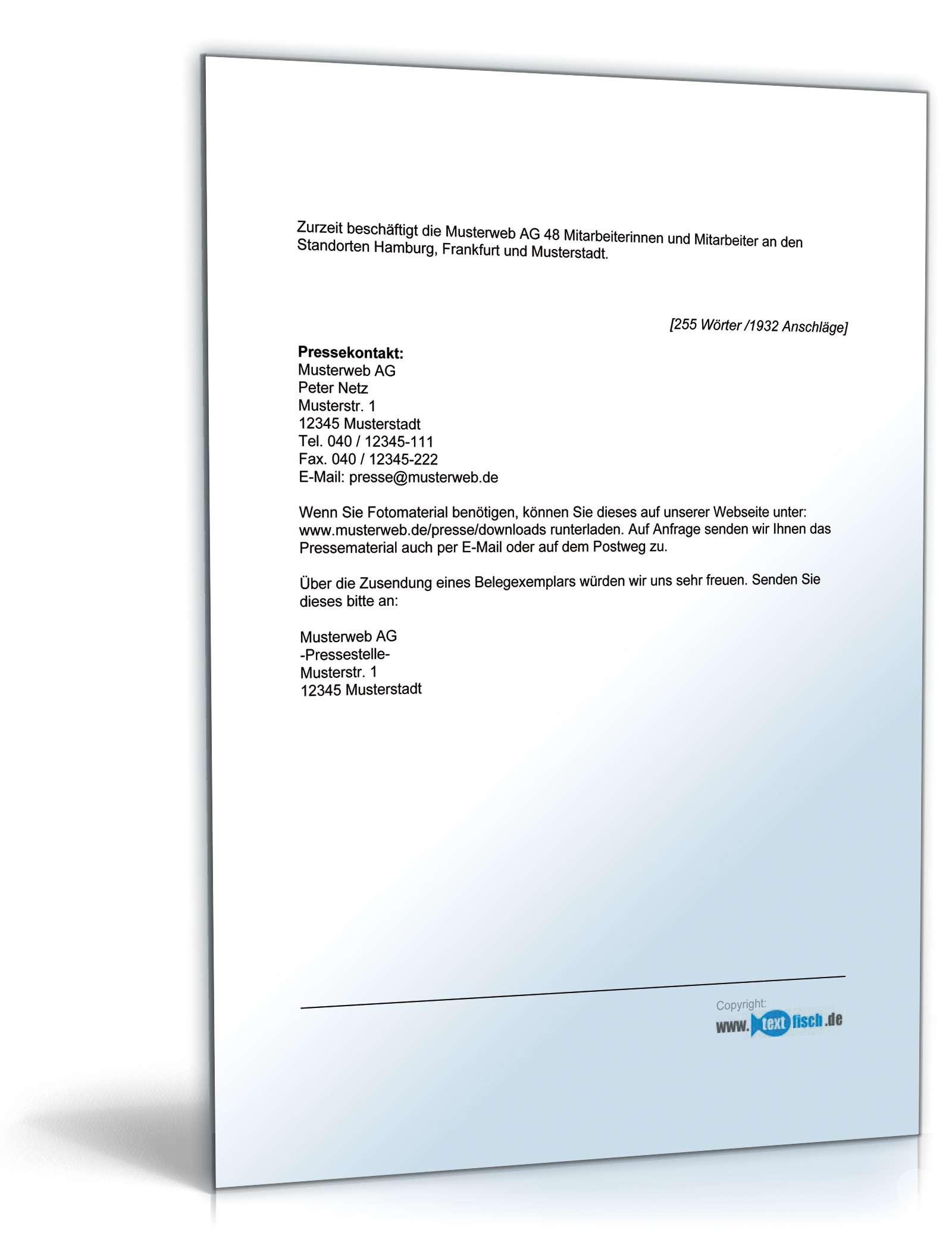 Ausgezeichnet Firmenprofil Vorlagen Wort Bilder - Beispiel Business ...