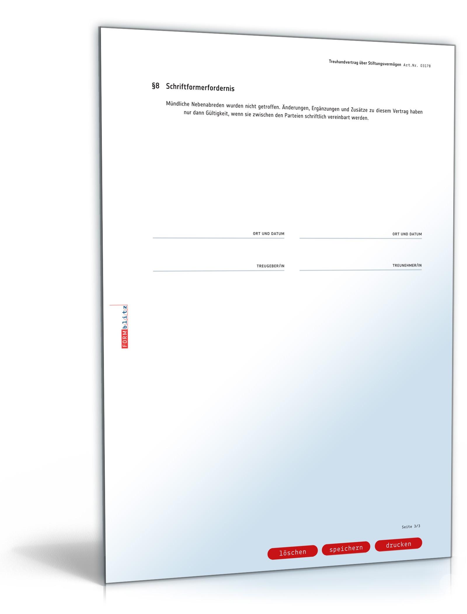 pdf seite 3 - Treuhandvertrag Muster