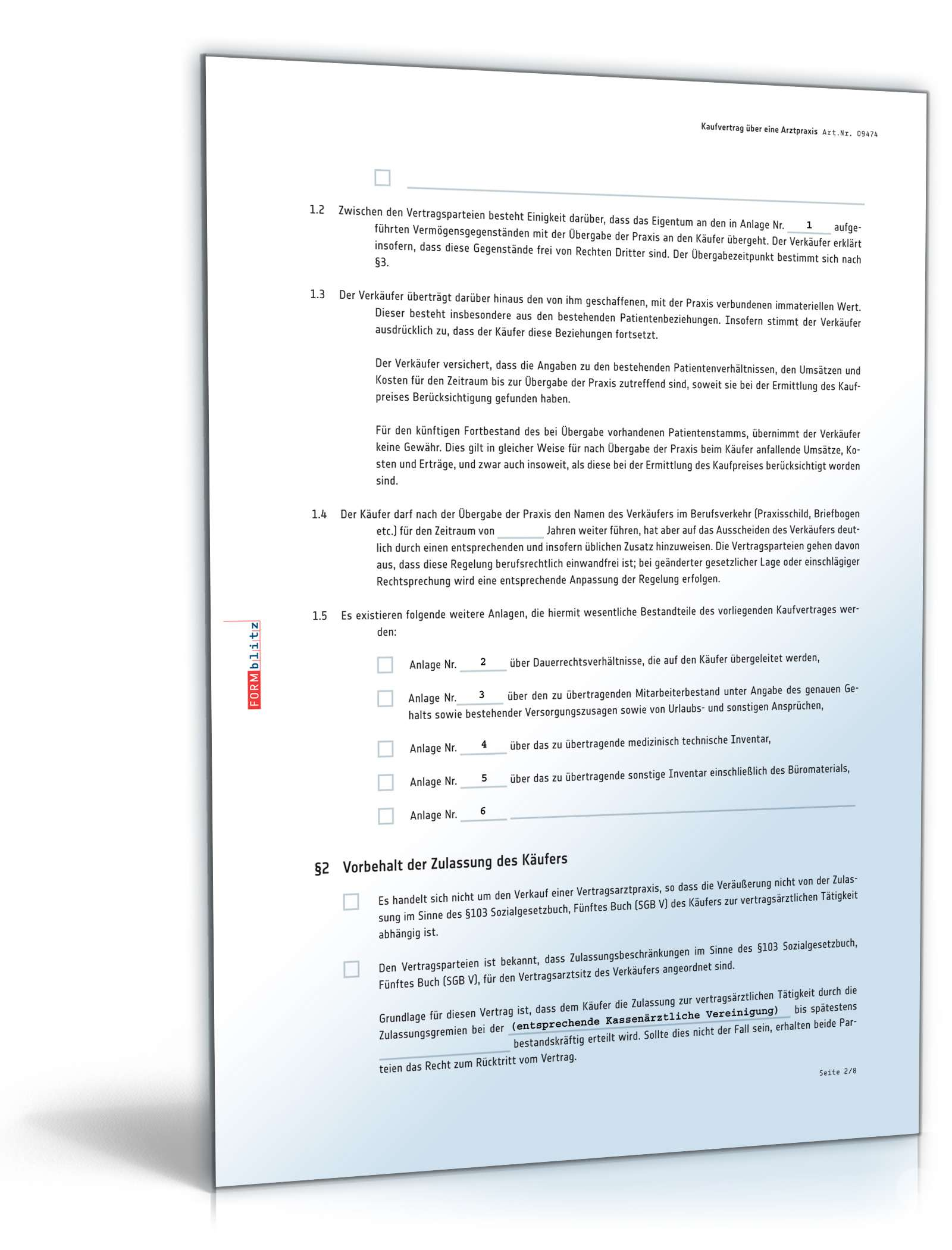 Kaufvertrag Praxis Rechtssicheres Muster Zum Download