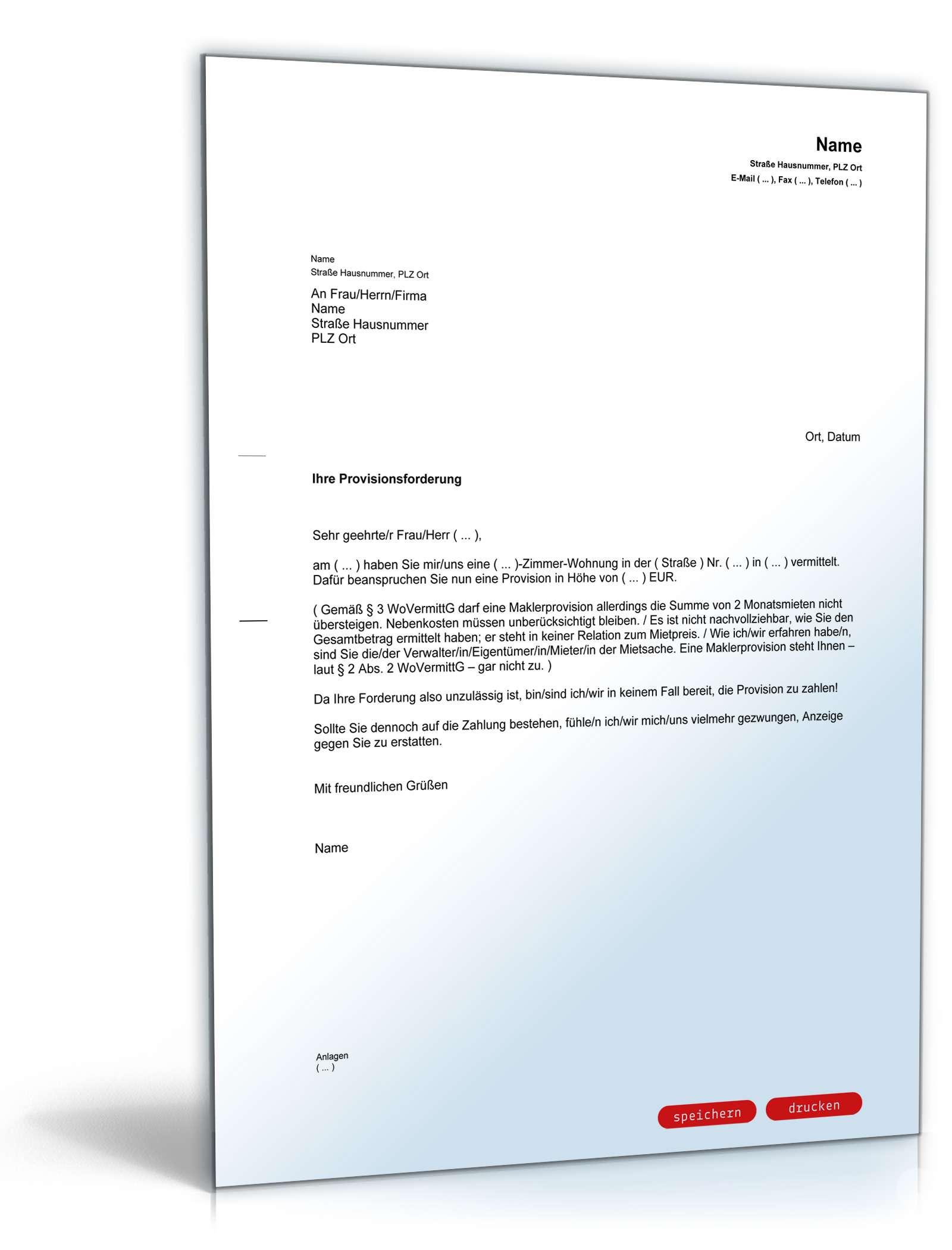 Charmant Vertrag Für Zahlungsvorlage Galerie - Beispiel Business ...