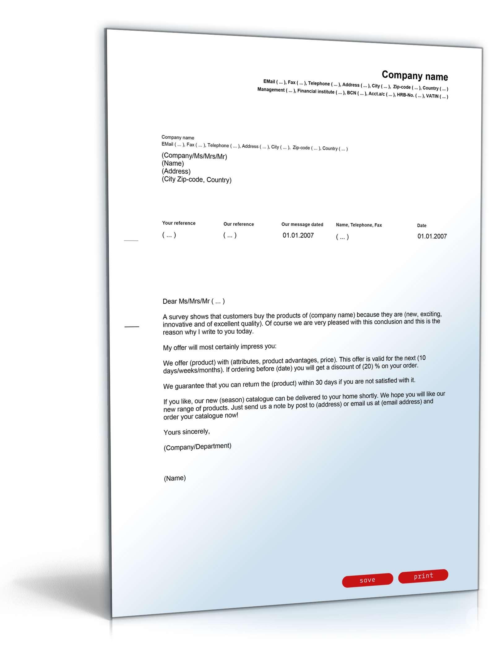 Das Große Sponsoring Paket Vorlagen Zum Download