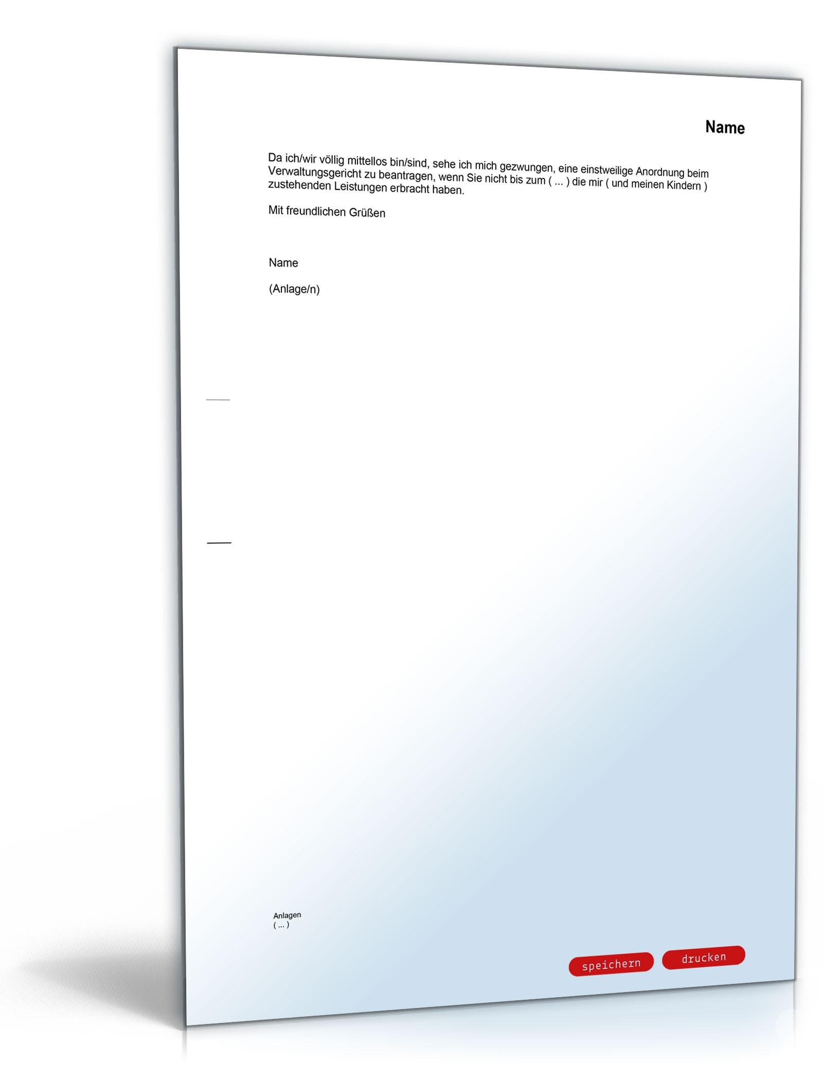 Widerspruch Ablehnung Antrag Alg Ii Vorlage Zum Download