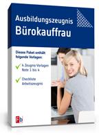 Ausbildungszeugnis Bürokauffrau