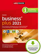 Lexware business plus 2021 - 365 Tage