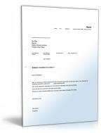 Vorlagen Paket Geschäftsbriefe Auf Englisch