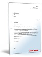 änderungsvereinbarung Mietvertrag Muster Zum Download