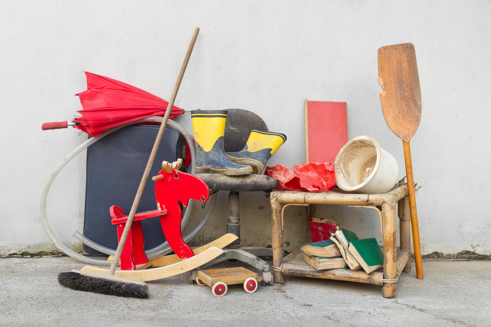 r ckgabe trotz keller voller sperrm ll. Black Bedroom Furniture Sets. Home Design Ideas