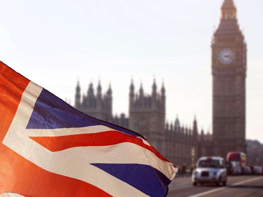 Der Union Jack weht vor Big Ben in London. Datenschutz nach dem Brexit ist ein wichtiges Thema.